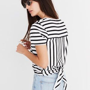 Madewell Tie Back T-Shirt